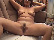 Super hot striptease demonstrate made by a horny milf