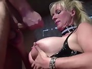 Blonde giant boobs mature german gets some cock