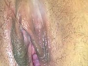 Fondling wet and swollen cootchie while husband is gone