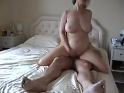 My wifes horny buddy finds me playing with my manhood