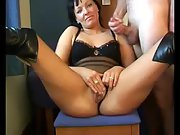 Spouse wifey masterbate together